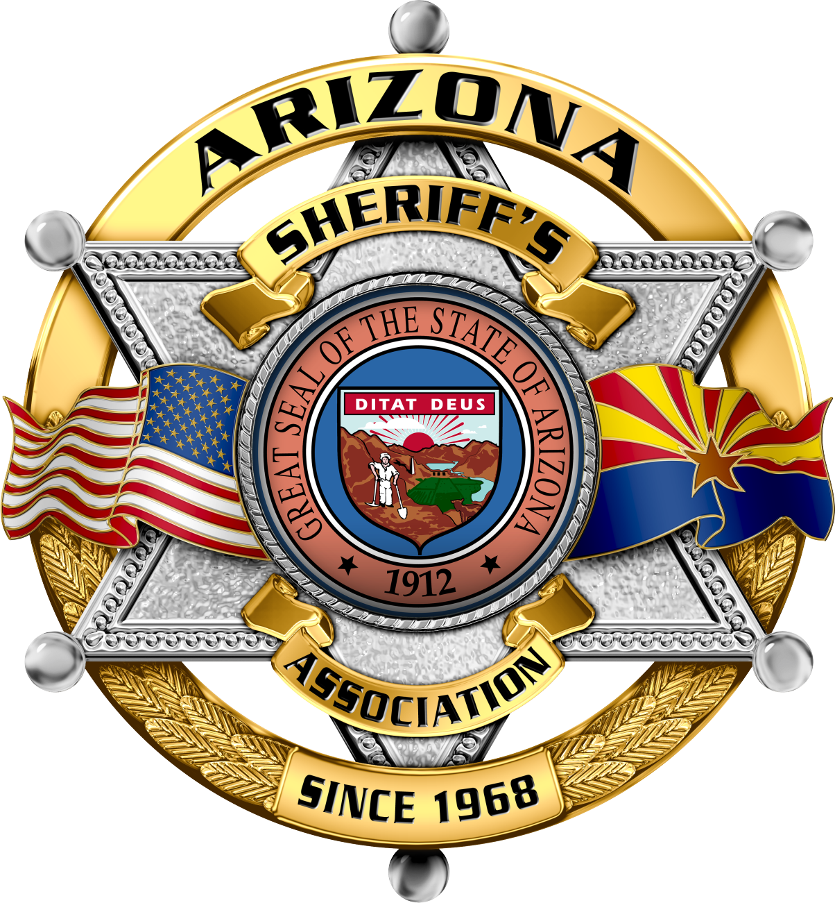Arizona Sheriffs Association Since 1968 Shield